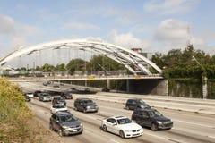 Wegverkeer in Houston, Tx royalty-vrije stock afbeeldingen