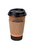Wegwerfbare Kaffeetasse Stockfotos
