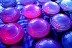 Wegwerfbare Kontaktlinsen Lizenzfreie Stockfotos