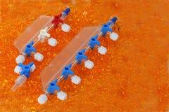 Wegwerfbare medizinische Ausrüstung Stockbilder