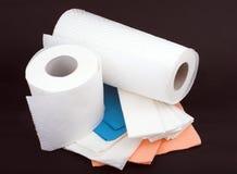 Wegwerfbares Papier Lizenzfreies Stockfoto