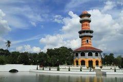 Wehart Chamrun Throne in Bang pa-in , Thailand Stock Photo