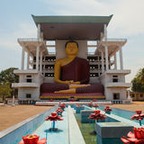 Weherahena佛教寺庙在马塔勒,斯里兰卡 免版税库存照片