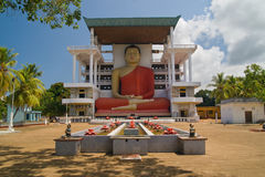 Weherahena buddhist temple Royalty Free Stock Images