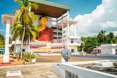Weherahena buddistisk tempel, Sri Lanka Royaltyfri Bild