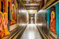 Weherahena buddistisk tempel, Sri Lanka Arkivbild