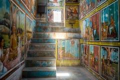 Weherahena buddistisk tempel, Sri Lanka Fotografering för Bildbyråer