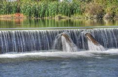 Wehr's Dam Stock Photo