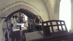Wehrkirche von Valea Viilor lizenzfreie stockfotos