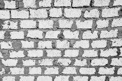 Weiß blockt Wand Stockbilder