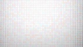 Weiß deckt Hintergrundfrontansicht mit Ziegeln vektor abbildung