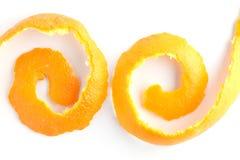 Weiß der orange Schale Lizenzfreie Stockfotografie