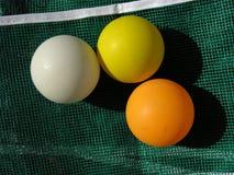 Weiß, Gelb und Orange Stockfoto