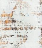Weiß gemalte alte rustikale schäbige hölzerne Beschaffenheit Stockbilder