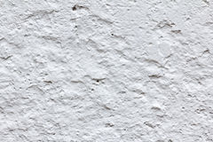 Weiß gemalte Betonmauer Beschaffenheit Lizenzfreie Stockbilder