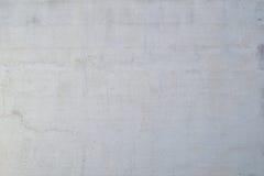 Weiß gemalte Wandbeschaffenheit Stockbild