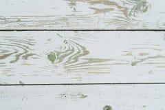 Weiß-grüner hölzerner Hintergrund stockfoto
