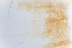 Weiß korrodiertes Metall Lizenzfreies Stockfoto