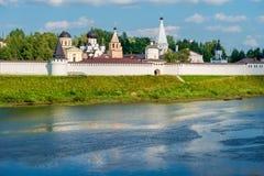 Weiß-Stein Kloster des Dormition Lizenzfreies Stockbild