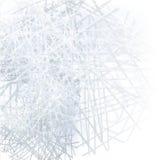 Weiß streift Ball Lizenzfreies Stockbild