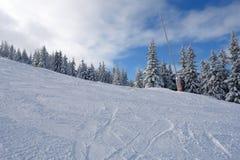 Weiß und Blau. Stockfoto