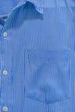 Weiß und Blau gezeichnetes Musterdesign Stockfotografie