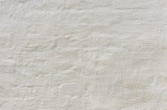 Weiß vergipster rauer Wand Schmutzhintergrund Stockbilder