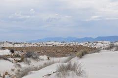 Weiß versandet nationales Denkmal, New-Mexiko Stockfoto