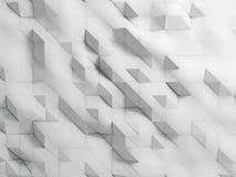 Weiß zerknitterter abstrakter Hintergrund Stockfoto
