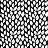 Weißblätter auf schwarzem Hintergrund vektor abbildung