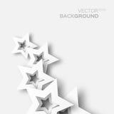 Weißbuch des abstrakten Origamis spielt Hintergrund die Hauptrolle