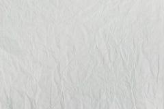 Weißbuch zerknittert lizenzfreies stockbild