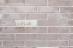 Weiße alte Backsteinmauer für den Hintergrund Lizenzfreie Stockfotos