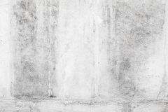 Weiße alte Betonmauerhintergrundbeschaffenheit Lizenzfreies Stockbild
