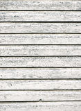 Weiße alte hölzerne Wand Stockfoto