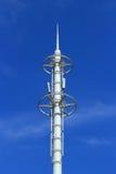 Weiße Antenne Stockfoto