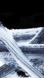 Weiße ausdrucksvolle Bürstenanschläge für die kreativen, innovativen, interessanten Hintergründe in der Zenart Lizenzfreies Stockbild