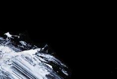 Weiße ausdrucksvolle Bürstenanschläge für die kreativen, innovativen, interessanten Hintergründe in der Zenart Stockfotografie