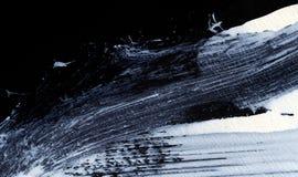 Weiße ausdrucksvolle Bürstenanschläge für die kreativen, innovativen, interessanten Hintergründe in der Zenart Stockfotos