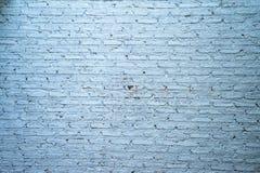Weiße Backsteinmauer Stockbild