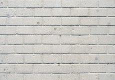 Weiße Backsteinmauer Lizenzfreie Stockbilder