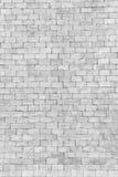 Weiße Backsteinmauer in der Dekorationsarchitektur für das Design backg Stockfotos