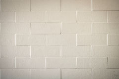 Weiße Backsteinmauerbeschaffenheit lizenzfreie stockbilder