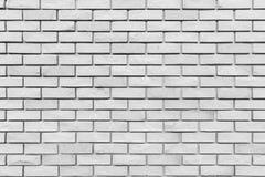 Weiße Backsteinmauerbeschaffenheit für Hintergrund Stockfoto