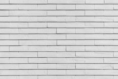 Weiße Backsteinmauerbeschaffenheit für Hintergrund Stockbild