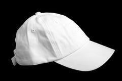 Weiße Baseballmütze Lizenzfreie Stockfotografie