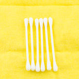 Weiße Baumwollknospe Stockfotografie