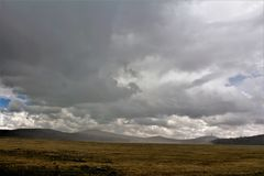 Weiße Berg-Apache-Reservierungslandschaft, Arizona, Vereinigte Staaten lizenzfreie stockbilder
