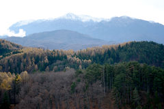Weiße Berge Stockbilder