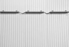 weiße Beschaffenheit Abbildung eines Metallhintergrundes Lizenzfreie Stockfotografie